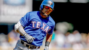 Rougned Odor, Rangers, Extension